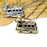 プチペンダント Jewelry プチネックレス バス プチネックレス アンティークゴールド