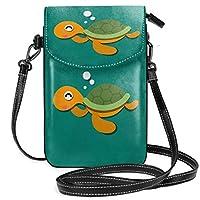 Gottoabag 財布 携帯ケース ワンショルダーバッグ ショルダーバッグ 亀 ホシガメ柄 軽量 斜めがけ 小さめ 斜め掛けバッグ ポケット付きバッグ 通勤 通学