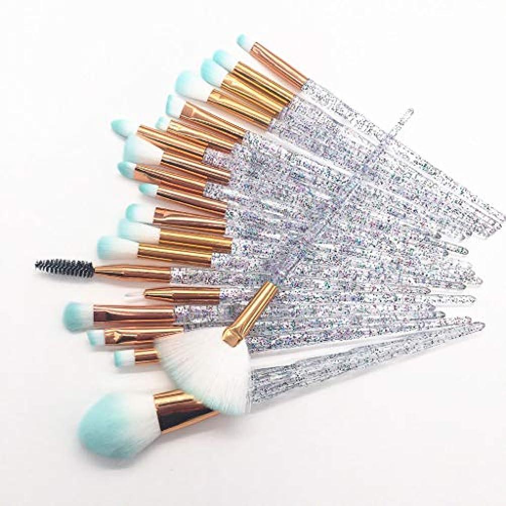 迷惑報復する同一の20化粧筆ビギナービューティーキット