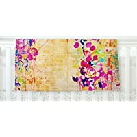 KESS InHouse Ebi Emporium Wall Flowers Fleece Baby Blanket 40 x 30 [並行輸入品]