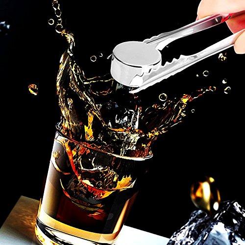 ステンレス製 丸型 アイスキューブ  石の氷 溶けない氷  ウイスキー氷 永久氷 ステンレス氷塊  ワイン ウイスキー ビール カクテルなど酒 最適