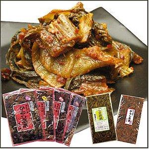 樽味屋・からし高菜 バリ辛200g×2袋 (メール便対応品)