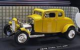 "MOTOR MAX 1:18SCALE AmericanClassics ""1932 FORD HOT ROD""(YELLOW) モーターマックス 1:18スケール アメリカンクラシックス 「1932 フォード ホットロッド」(イエロー) [並行輸入品]"