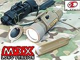 ITIタイプレプリカ M3Xフラッシュライト ロングガン (高光度LED)EX175 TAN