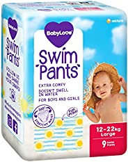 BabyLove Premium Swim Pants, Size Large (12-22kg), 27 Nappies (3x 9 pack)