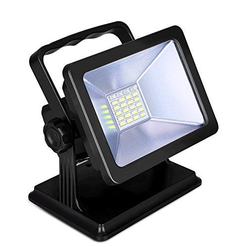 充電LED作業灯 15W LED投光器 ポータブル 防災 停...
