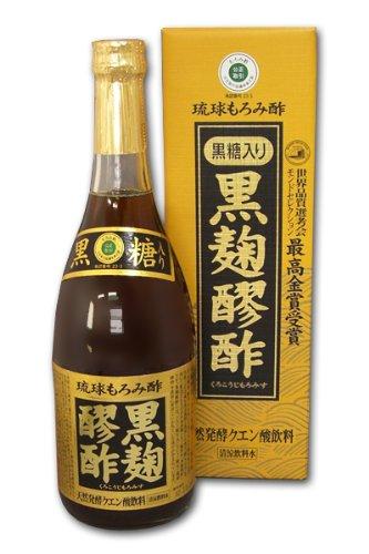 ヘリオス 黒麹醪酢 黒糖入り 720ml