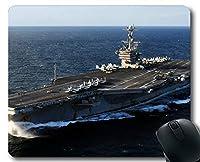 Yantengマウスパッド、空母USSジョージワシントン軍艦ゲーミングマウスマットマルチYT72
