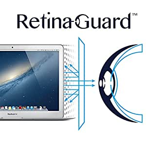 "RetinaGuard Apple Macbook Air 13""/Pro 13""ブルーライト90%カット保護フィルム"