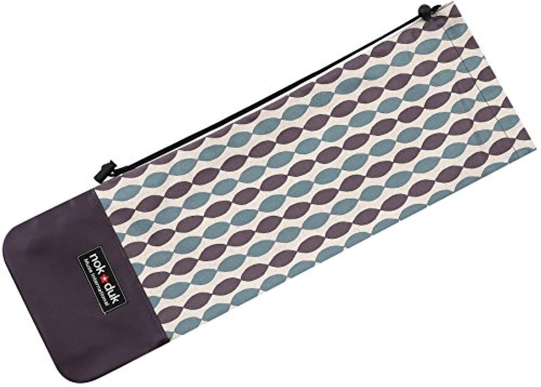 nokduk バドミントンラケットケース ビジューストライプ  スマートでコンパクト(2本可)。丁寧な縫製。裏地付きでしっかりとした作り。