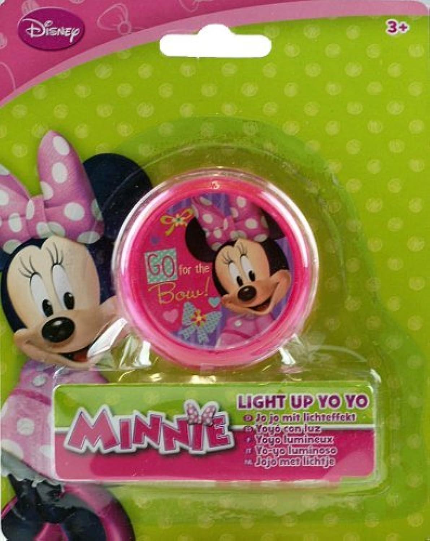 Disney Minnie Mouse Light Up Pink Yo-Yo