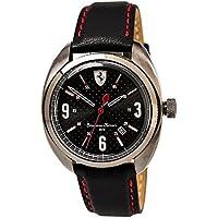 ブラック メンス アナログ カジュアル クォーツ Ferrari 時計 Sportiva ???? 0830207