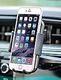 "BestrixユニバーサルスマートフォンCDスロットカーマウントホルダーIphone 7、6、6s Plus 5s、5C、5、4s、4、SAMSUNG GALAXY s3s4s5s6s7s8エッジ/プラス注2345LG g3g4g5g6すべてのスマートフォン最大6"""