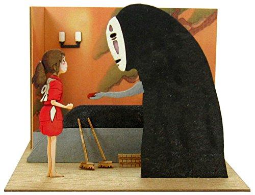 さんけい スタジオジブリmini 千と千尋の神隠し 千尋とカオナシ ノンスケール ペーパークラフト MP07-59