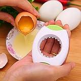 miyare(ミヤレ) エッグカッター 卵の殻割り ステンレス卵割り器 玉子切セット 使いやすい キッチン用品