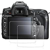 Nikon D90 用 液晶プロテクター AFUNTA NikonD90 カメラ用 液晶保護フィルム ニコン D 90 用 ガラス保護フィルム 一眼レス ガラスフィルム 2枚入り