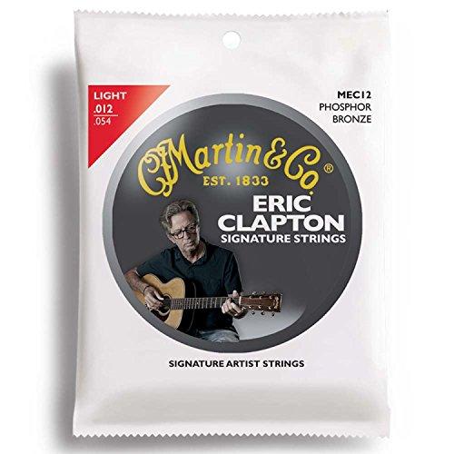 MARTIN MEC12 Light Clapton's Choice アコースティックギター弦×10セット
