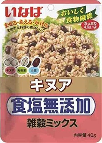 いなば キヌア食塩無添加 雑穀ミックス 40g×6個