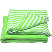 green sprouts Muslin Swaddle Blankets made from Organic Cotton,Green Set by green sprouts