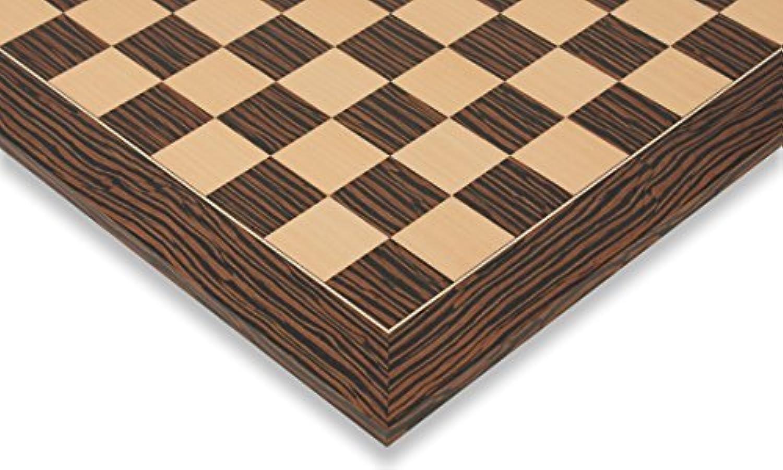 Tiger Ebony & Maple Deluxe Chess Board - 1.5