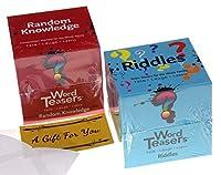 WordTeasers Riddles & ランダムな知識バンドル - カードデッキゲーム
