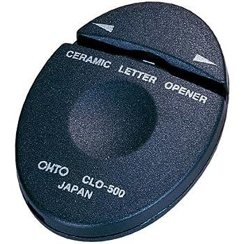 オート レターオープナー セラミックレターオープナー 黒 CLO-500クロ