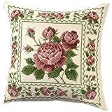 オリムパス製絲 ししゅうキット〈オノエ・メグミの花のある暮らし〉 No.6051 アンティークローズ