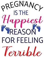 pregnancy is the happiest person for feeling terrible: Mint Green Stripes Tracker for Newborns, Breastfeeding Journal, Sleeping and Baby Health Notebook