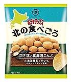 湖池屋 ポテトチップス 北の食べごろ 焼き塩と北海道こんぶ 60g×12袋