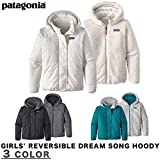 Patagonia アウトドア PATAGONIA パタゴニア GIRLS' REVERSIBLE DREAM SONG XL BLK