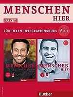 """Menschen hier A2/1. Paket: Kursbuch mit DVD-ROM und Arbeitsbuch mit Audio-CD: Deutsch als Zweitsprache / Paket: Kursbuch """"Menschen"""" mit DVD-ROM und Arbeitsbuch """"Menschen hier"""" mit Audio-CD"""