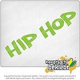ヒップホップ・ミュージックギャングスタ・スタイル・ラップ・ゲットー Hip Hop Music Gangsta Style Rap Ghetto 7,9inch x 1,8inch 15色 - ネオン+クロム! ステッカービニールオートバイ
