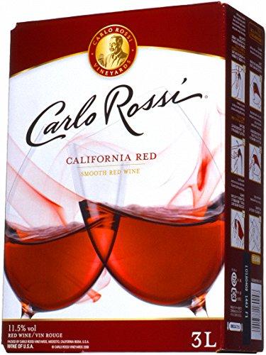 カルロ ロッシ カリフォルニア レッド (バックインボックス 赤ワイン) 3L [USA/赤ワイン/辛口/ライトボディ/1本]