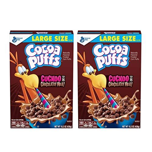 Cocoa Puffs ココア味 ホールグレインコーン シリアル [並行輸入品]