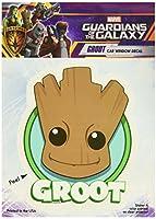 Marvel ST MGOGE GRTHEAD Car Window Decal (Guardians of the Galaxy Guardians of the Galaxy Groot Cute Head Logo 15cm x 20cm )