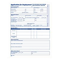 comprehensive employee application form 8 1 2 x 11 25 forms 並行