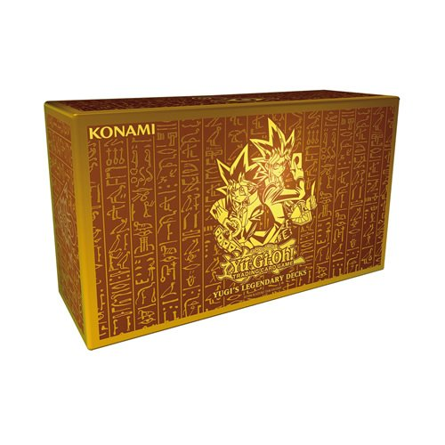 Yu-Gi-Oh King Of Games Yugis Legendary Decks Holiday Box Set (Gold)