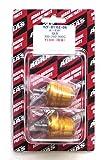 アグラス(AGRAS) バーエンド 外径 φ32 ワンピースタイプ ゴールド YZF-R1(02-08) YZF-R6(06-09) 300-260-000G