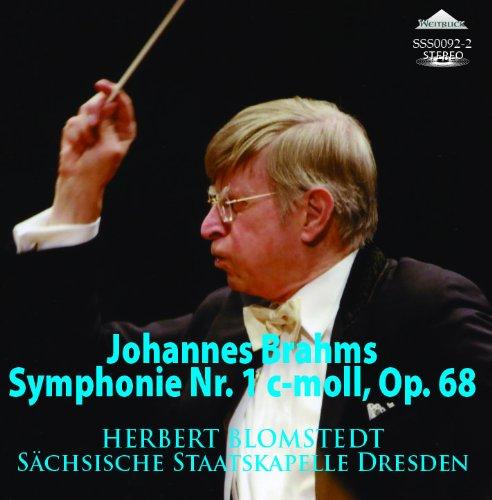 ブラームス:交響曲第1番 ヘルベルト・ブロムシュテット指揮シュターツカペレ・ドレスデン