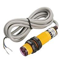 uxcell インダクティブ近接スイッチ 2線式 NO AC 90-250V 400mA 10cm E18-DS10KA
