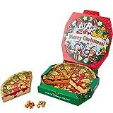 ディズニー クリスマス 2018 ( リゾート ) ピザ箱風 コーンスナック ミッキー マウス お菓子 おやつ スナック お つまみ リゾート限定