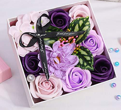 Dida daily ローズソープフラワープリザーブドフラワー、誕生日記念日、母の日バレンタインデープロモーシ...