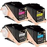 LPC3T33K,C,M,Y 4色セット リサイクルトナー(大容量) エプソン LP-S7160・LP-S7160Z対応
