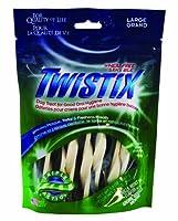 Twistix 5.5オンス オリジナル 歯科 噛む 犬 大型 バニラ ミント フレーバー