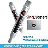 SingMasters Magic Sing Vietnamese Karaoke Player,3610+ Vietnamese Songs & 13000+ English Songs, Dual Wireless Microphones,YouTube Compatible Magic Sing,HDMI,Song Recording,Karaoke Machine