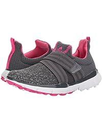 (アディダス) adidas レディースゴルフシューズ?靴 Climacool Knit Grey Five/Grey Four/Shock Pink 7.5 (24.5cm) B - Medium