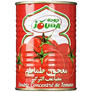 40個分のトマト・2倍濃縮トマトペースト 400g【ハラル認証】Premium Halal Double Concentrated Tomato Paste Sauce