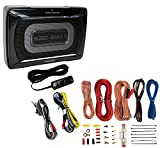 Kenwood KSC-SW11 150W Low-Profile Amplified Car Subwoofer Enclosure+Amp Kit by Kenwood