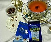 スウィーツの健康ティー「崑崙雪菊(コンロンユキギク、こんろんゆきぎく、こんろんゆききく)」貴重無農薬高山自然ハーブ花茶:36グラム