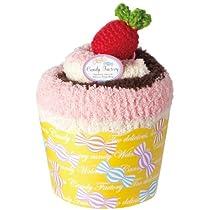 プレーリー おなかウォーマー Candy Factory メガカップケーキ ストロベリーチョコ CFC-801